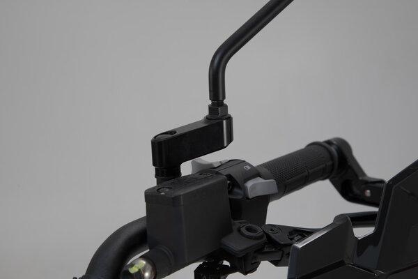 Spiegelverlängerung Schwarz. Max. Verlegung: 40 mm. Yamaha/KTM/Ducati.