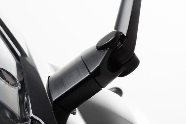 Spiegelverlängerung Kontur-Distanzstück. Schwarz. BMW F 800 GT (12-).