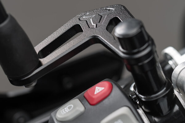 Extension de rétroviseur pour BMW Noir. Sur pas de vis original. Longueur : 66 mm.