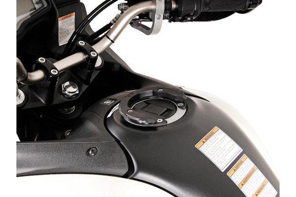 Anello aggancio serbatoio EVO Nero. Modelli Suzuki. Per serbatoio con 5 viti.
