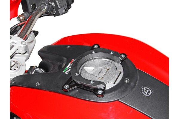 EVO Tankring Schwarz. Ducati Monster 696/1100.