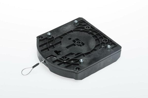 Anneau de réservoir supérieur EVO Pour sacoches EVO. Fonction QUICK-LOCK. Noir.
