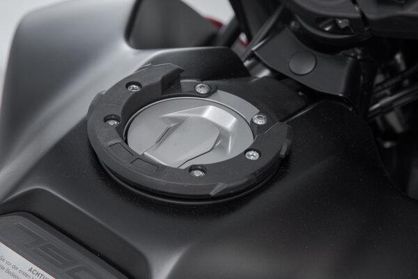 EVO tank ring Black. KTM 990 Super Duke / 790 Adv. 6 screws.