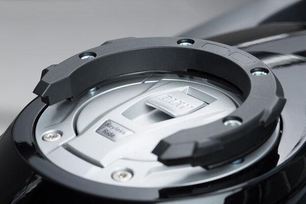 Anello aggancio serbatoio EVO Nero. Per modelli BMW-/ KTM-/ Ducati.