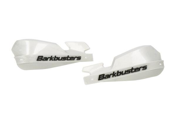 Plásticos de protectores de manos VPS Plateado. Con deflector de viento.