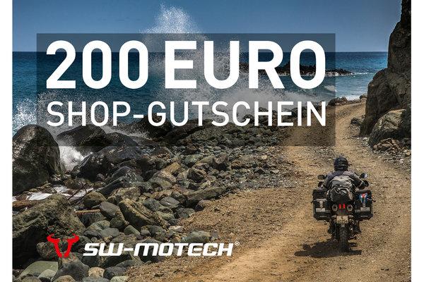 Webshop Gutschein 200 Euro Gratis Beigabe: Becher, Halstuch, Basecap, Weste.