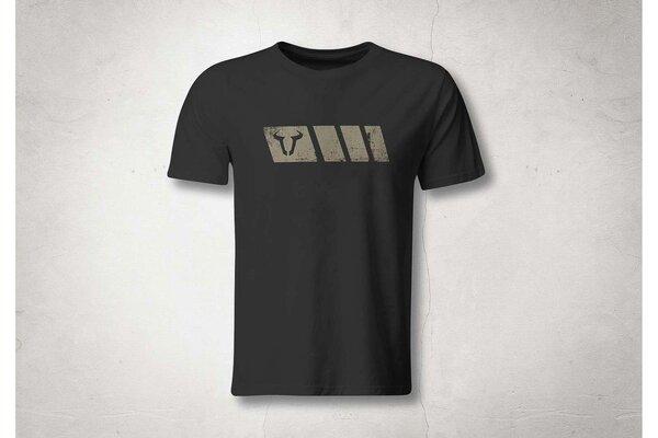 T-Shirt Legend Line. Schwarz. Herren. Größe L.