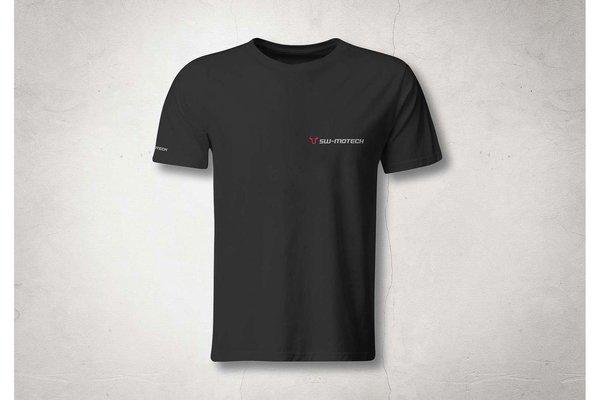 T-Shirt Core Line. Schwarz. Herren. Größe XL.