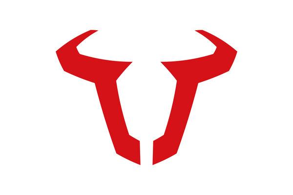 Sticker Logo Icon SW-MOTECH 85 mm. Plot Rot. Witterungsbeständig.