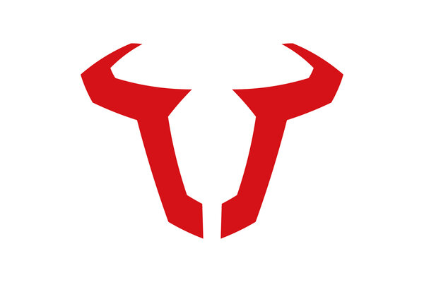 Autocollant Logo SW-MOTECH 85 mm. Logo Rouge. Résistant