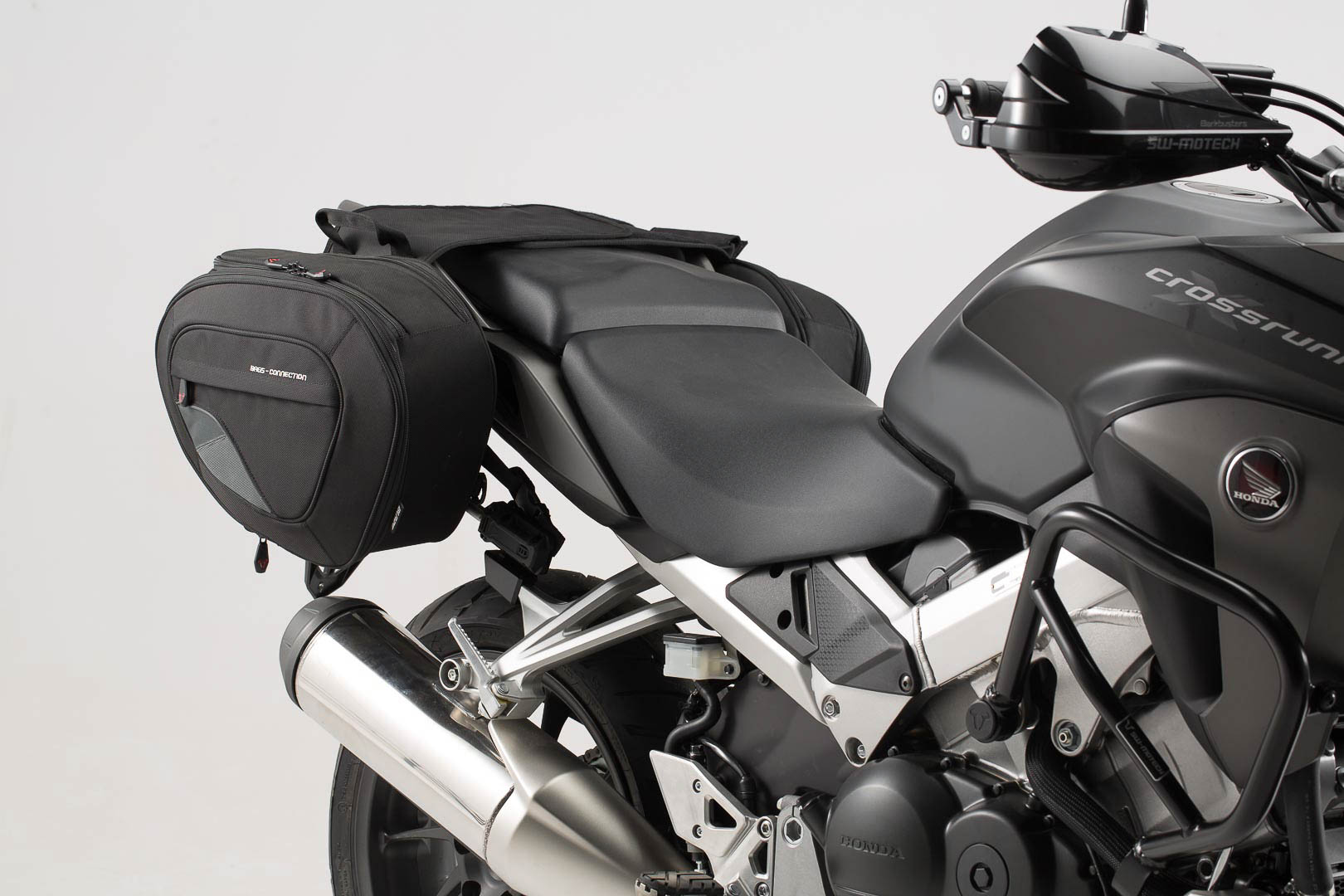 Safe Saddlebags Blaze For Honda Crossrunner By Sw Motech