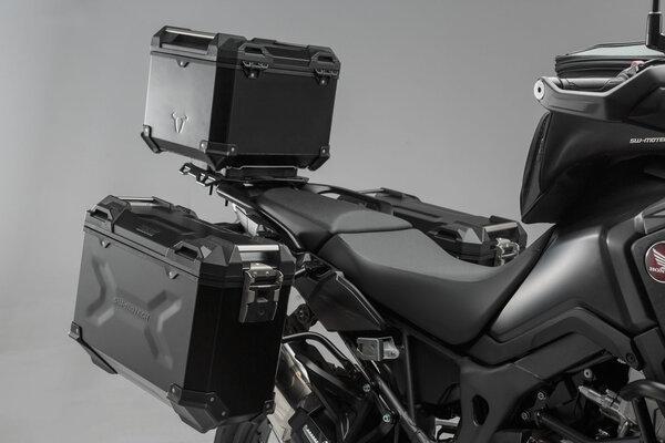 Set de equipaje adventure Negro. Honda CRF1000L Africa Twin (15-17).