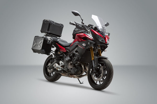 Adventure Set Luggage Black Yamaha Mt 09 Tracer 14