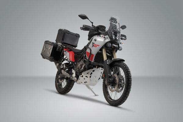 Adventure-Set Gepäck Silbern. Yamaha Ténéré 700 (19-).