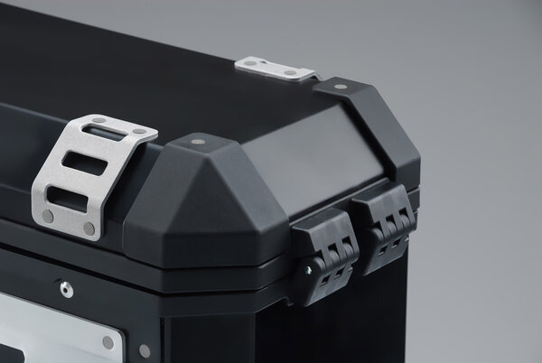 TRAX ION L Seitenkoffer. Aluminium. 45 l. Rechts. Schwarz.