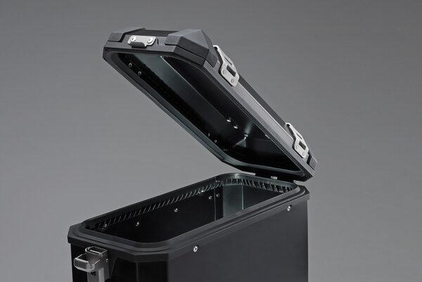 TRAX ION L Seitenkoffer. Aluminium. 45 l. Rechts. Silbern.