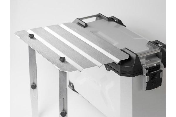 TRAX ADV Campingtisch-Platte Für TRAX ADV Seitenkoffer. Aluminium.