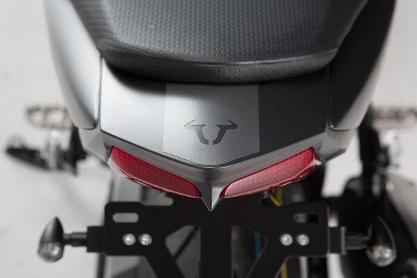 Aufkleber-Set 17-teilig. Graphitmetallic matt. SV650 ABS (15-).