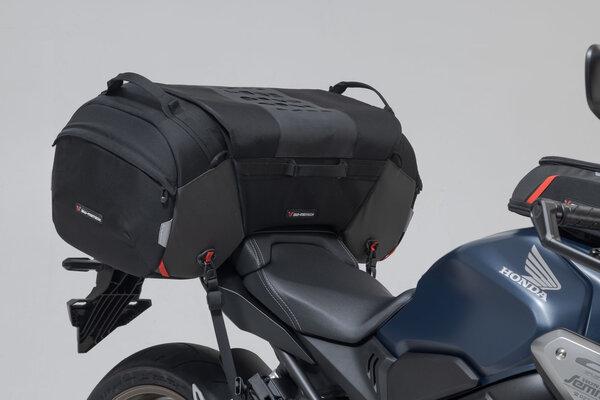 PRO Travelbag Hecktasche 1680D Ballistic Nylon. Schwarz/Anthrazit.