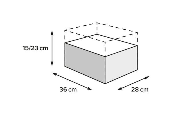 PRO Roadpack Hecktasche 1680D Ballistic Nylon. Schwarz/Anthrazit. 8-14 l.