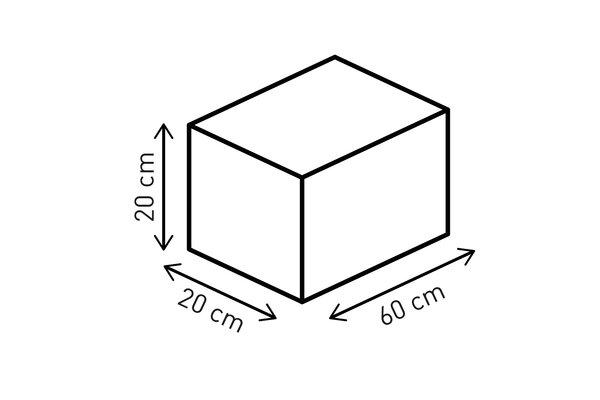 EVO Tentbag Hecktasche 22 l. Ballistic Nylon. Schwarz/Grau.