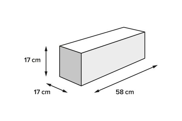 PRO Tentbag Hecktasche 1680D Ballistic Nylon. Schwarz/Anthrazit. 18 l.