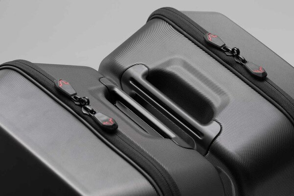 URBAN ABS side case set 2x 16.5 l. ABS plastics. For SLC side carrier.