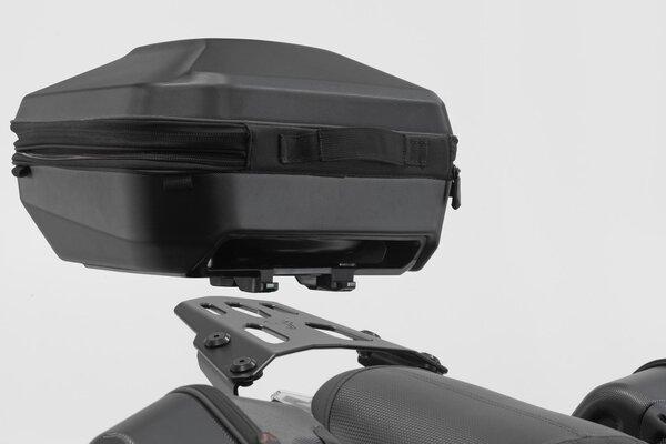 Topcase URBAN ABS 16-29 l. Système DHV. Plastique rigide ABS. Noir.