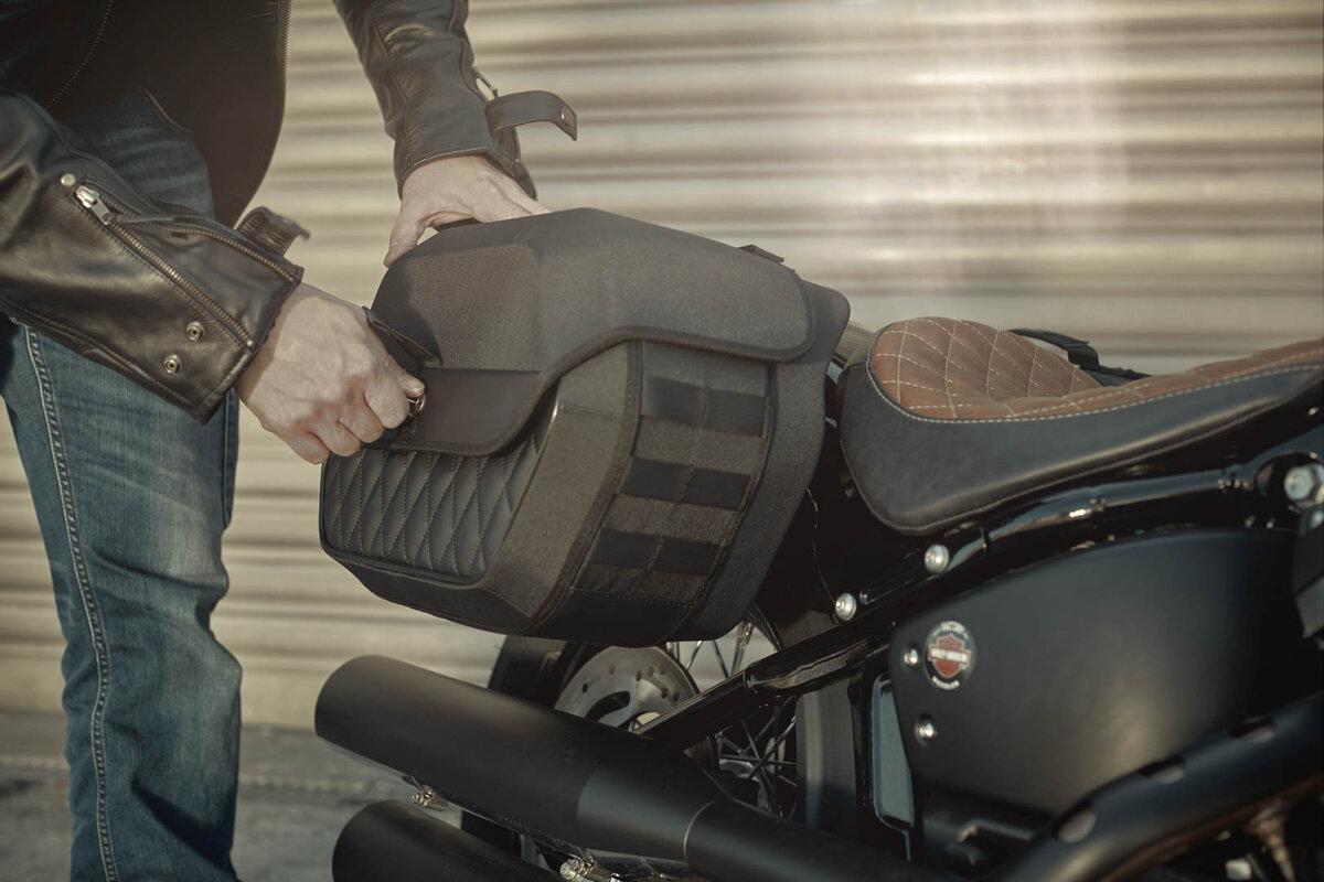 Borsa laterale Legend Gear LH1 Harley Davidson SW MOTECH