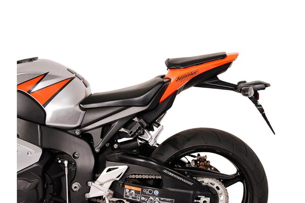 BLAZE H Satteltaschen-Set Schwarz/Grau. Honda CBR1000RR Fireblade (08-16).