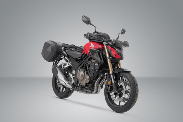 URBAN ABS Seitenkoffer-System 2x 16,5 l. Honda CB500F (18-), CBR500R (18-).