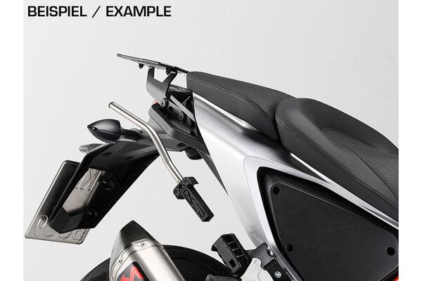 BLAZE H saddlebag set Black/Grey. KTM 1290 Super Duke R (13-19).