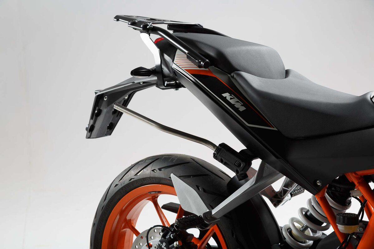 Blaze h saddlebag set black grey ktm duke 125 390 16