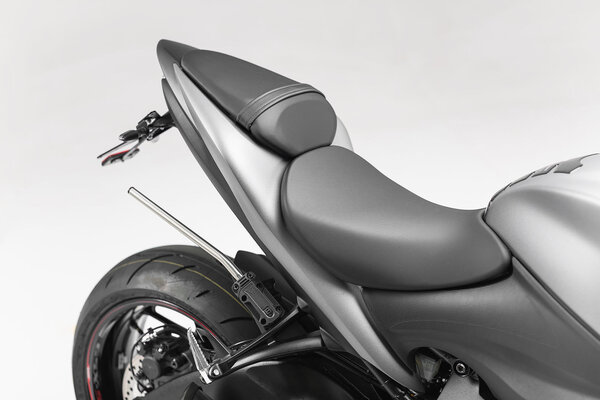 BLAZE H saddlebag set Black/Grey. Suzuki GSX-S1000 / GSX-S1000 F (15-).