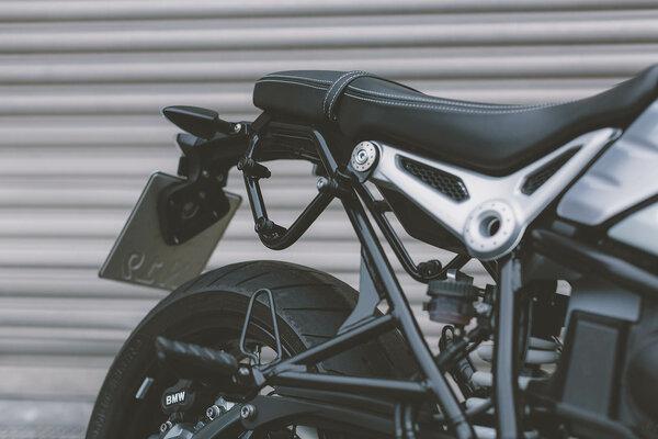 Legend Gear Seitentaschen-System LC Black Edition BMW R nineT Racer (16-).