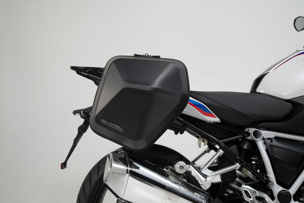 URBAN ABS Seitenkoffer-System 2x 16,5 l. BMW R 1200 R (15-18),R 1250 R/RS (18-).