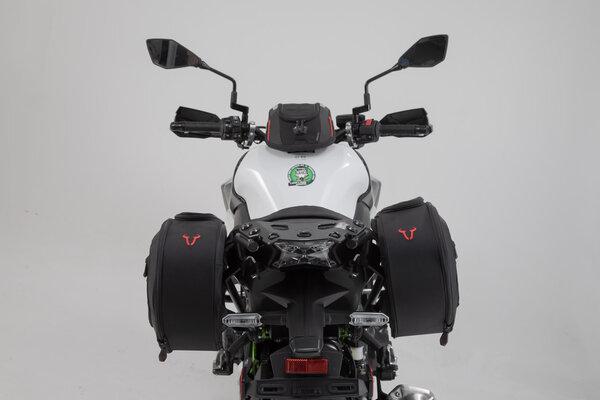 BLAZE H Satteltaschen-Set Schwarz/Grau. Kawasaki Z900 (16-).