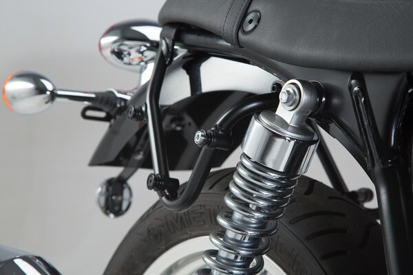 Legend Gear sist. borse laterali LC Black Edition Triumph Thruxton 900 (04-15)/Bonneville SE(04-16).