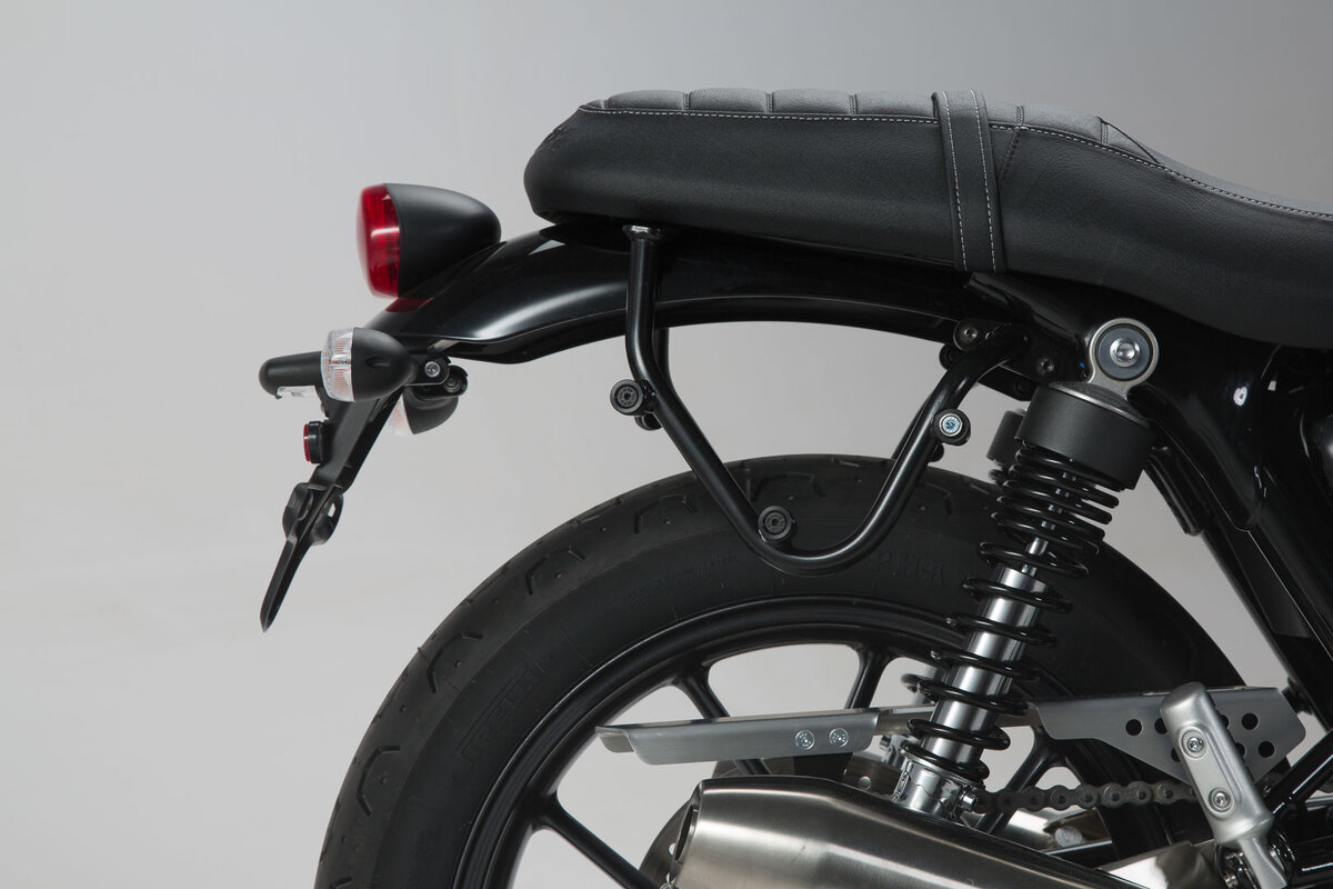 Street Cup 900 f/ür Triumph Street Twin 16- SW-MOTECH Legend Gear Seitentaschen-System