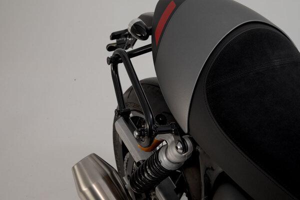 Legend Gear Seitentaschen-System LC Black Edition Triumph Thruxton RS (19-).