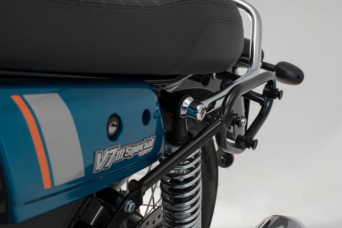 Legend Gear side bag system LC MOTO GUZZI V7 III Special LD/KV (16-18)