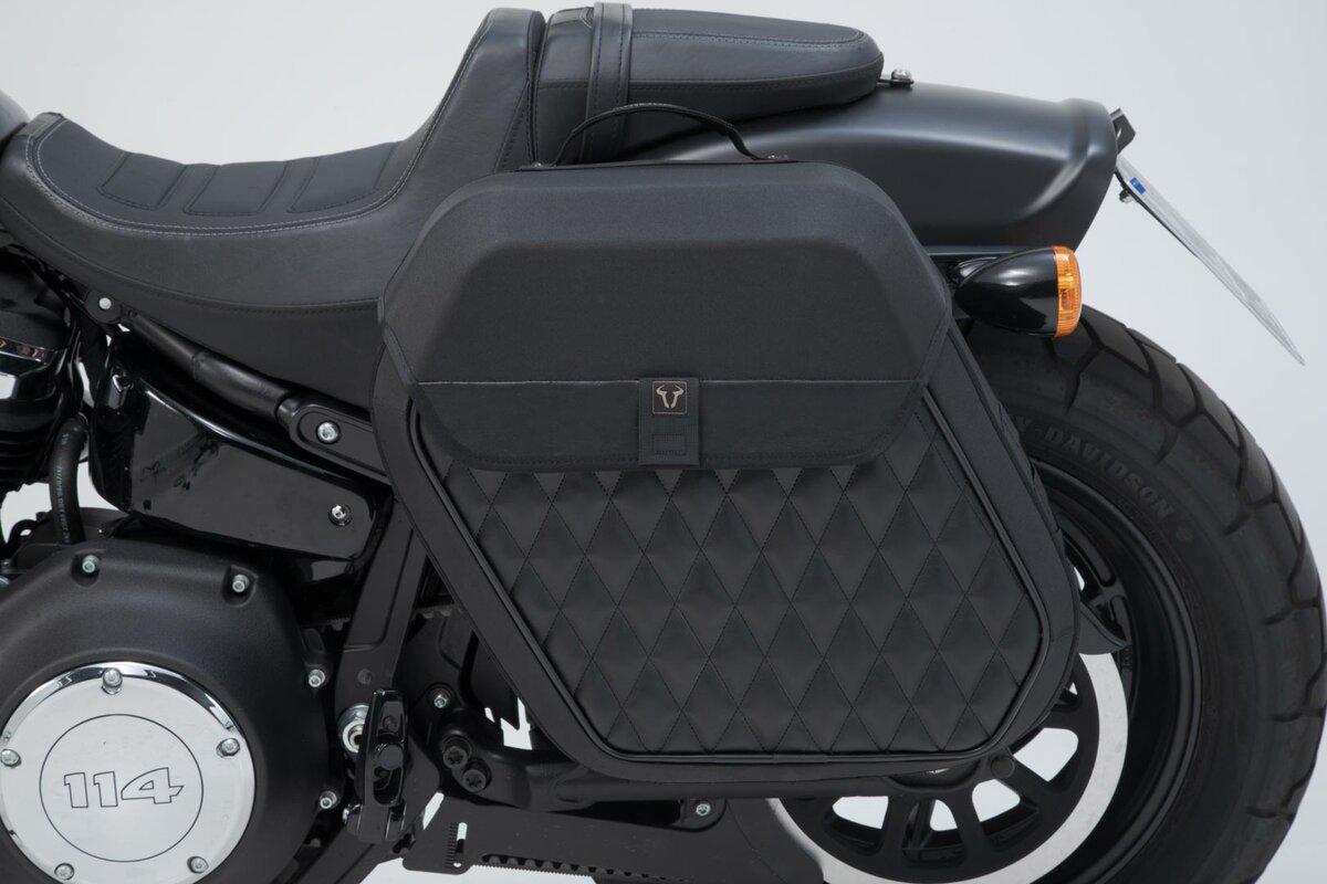 Harley Davidson Side Bag System