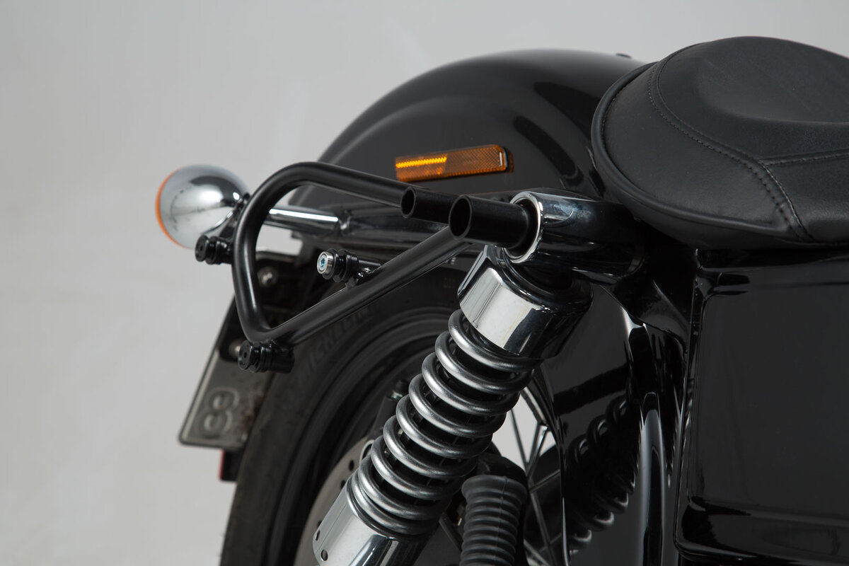 Legend Gear Side Bag Set Harley Dyna Wide Glide Sw Motech