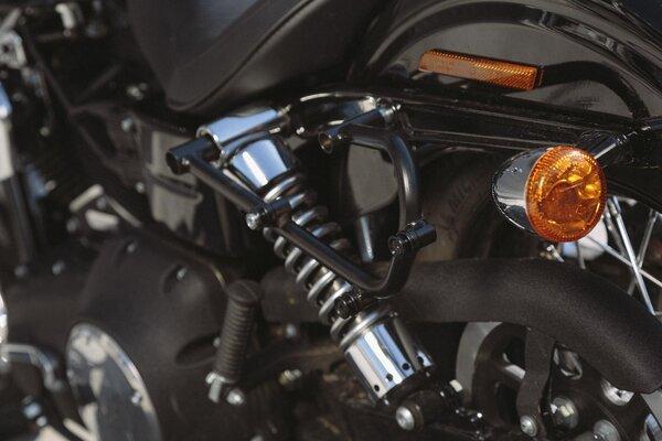 Legend Gear Seitentaschen-System LC Harley Davidson Dyna Low Rider, Street Bob.