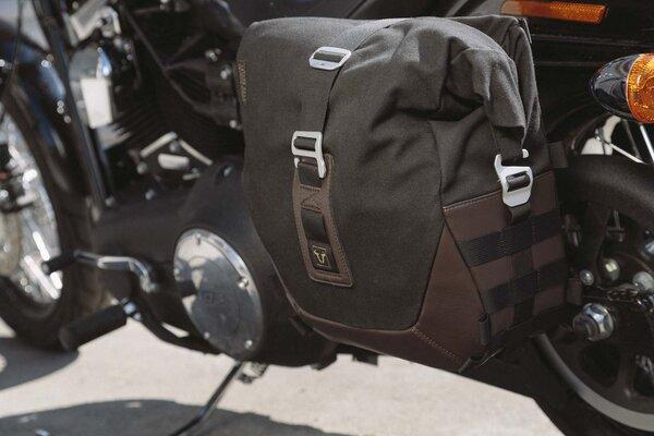 Legend Gear Seitentaschen-System LC Black Edition Harley Davidson Dyna Low Rider, Street Bob.