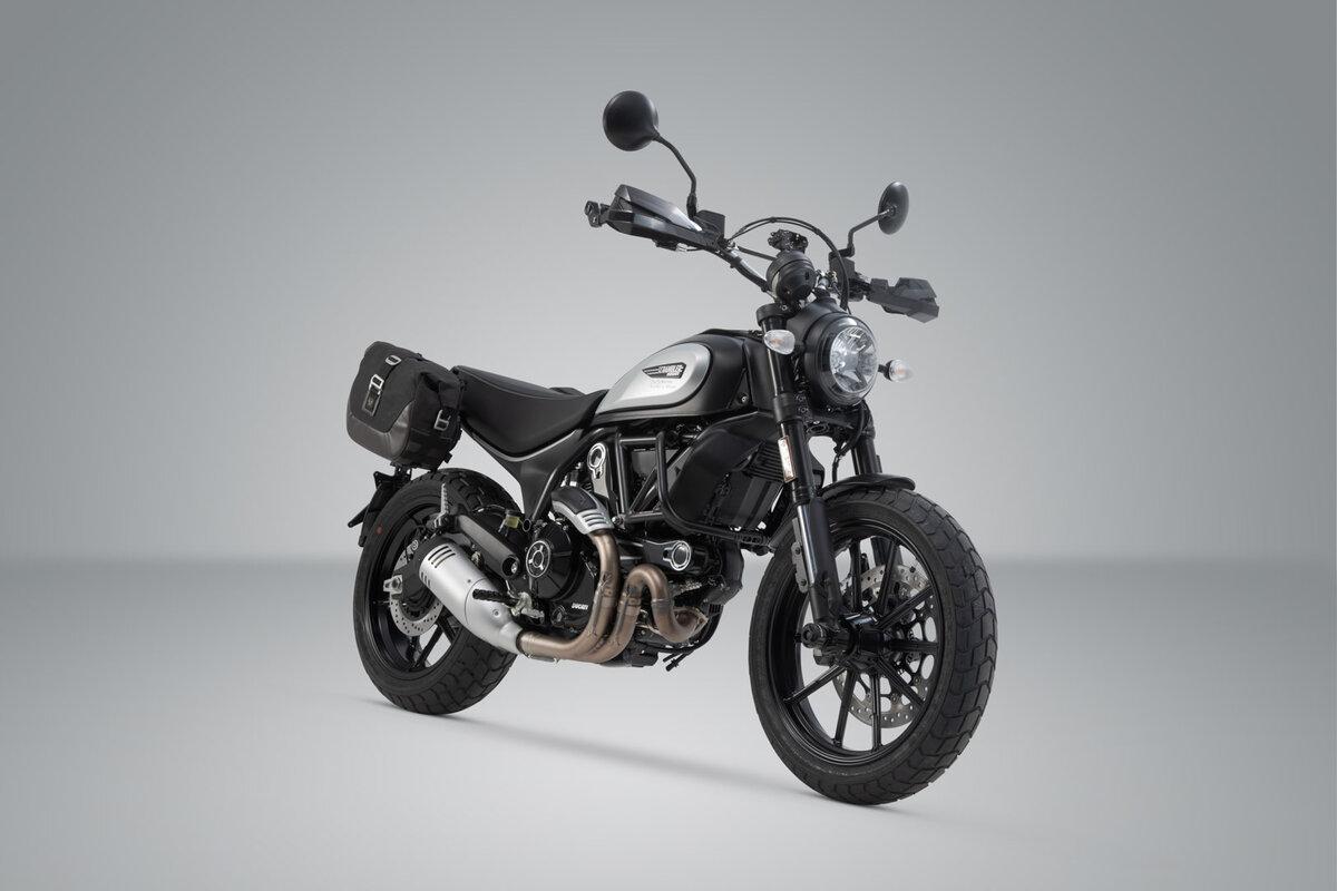 für LC1//LC2 Legend Gear SLC Seitentaschen-Träger links Ducati Scrambler 14