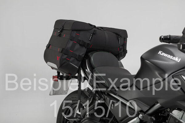 SysBag 15/15/15 set Black/Anthracite. Incl. lashing straps.