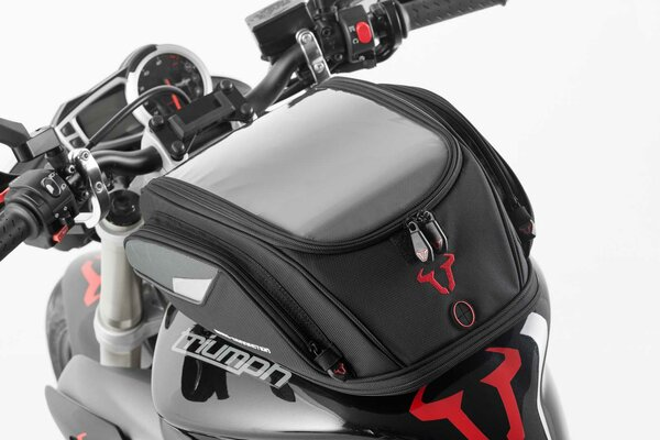 EVO 2.0 Sport electric tank bag 12 V. 14-21 l. For EVO tank ring. Black/Grey.
