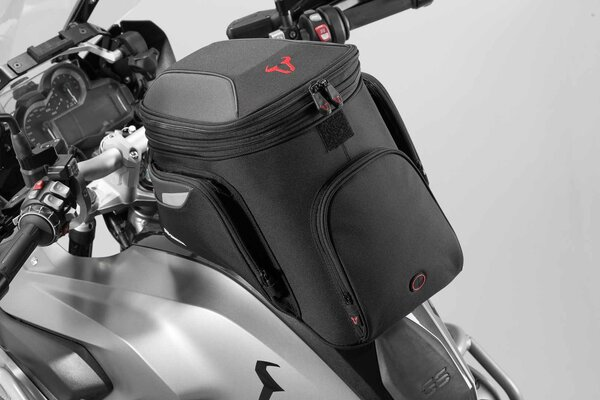 EVO GS tank bag 16-22 l. For EVO tank ring. Black/Grey.