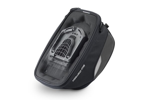 EVO Engage tank bag 7 l. For EVO tank ring. Black/Grey.